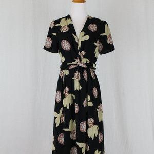 Armani Collezioni Short Sleeve Shirtwaist Dress